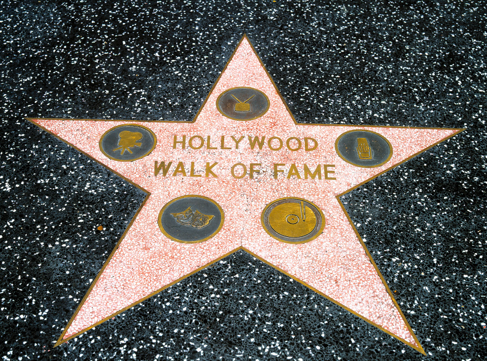 美國洛杉磯 Hollywood Walk of Fame 星光大道