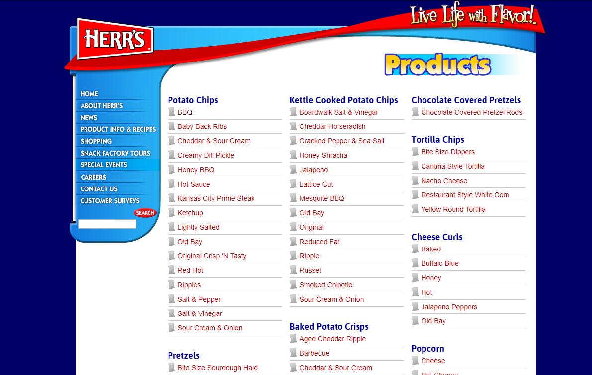 美國必買 美國零食 美國旅遊 美國洋芋片 Herrs