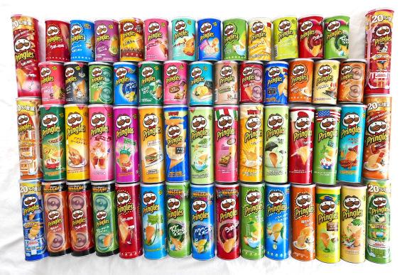 美國必買 美國零食 美國旅遊 美國洋芋片 Pringles