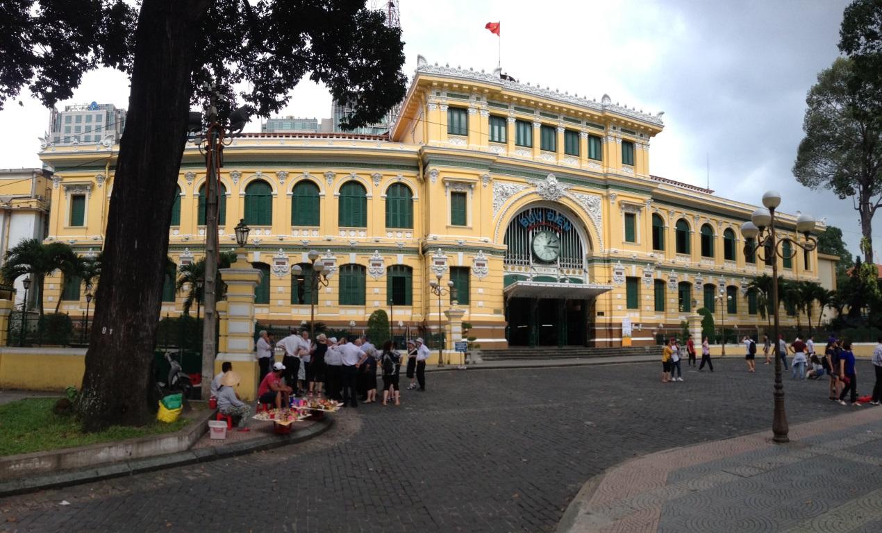 越南西貢中心郵政局