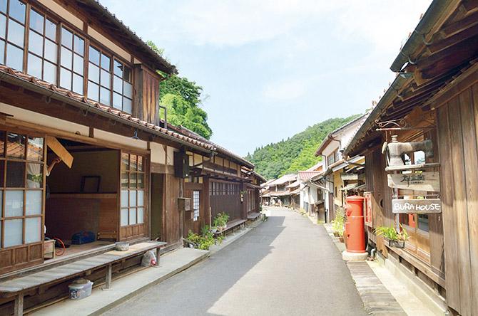 大森銀山傳統建築