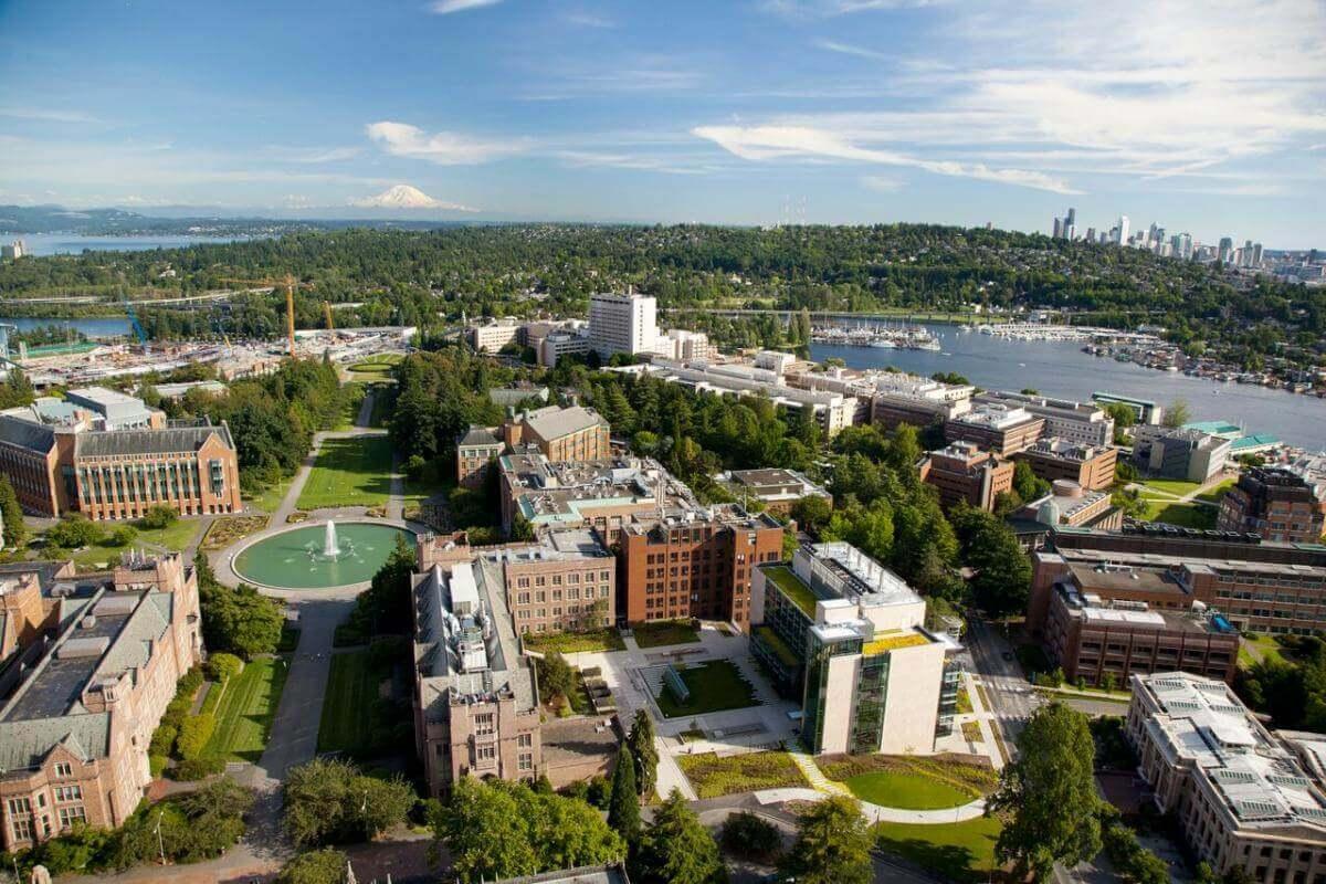 華盛頓大學俯瞰景