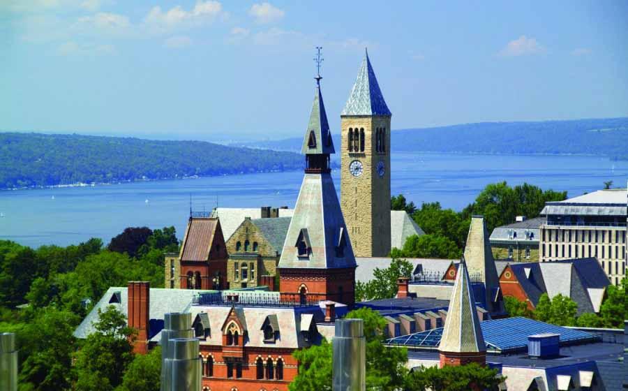 全美最美校園 康乃爾大學