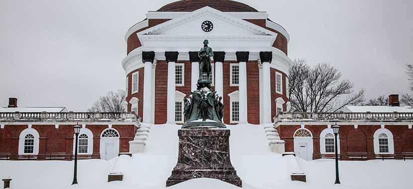 維吉尼亞大學冬天