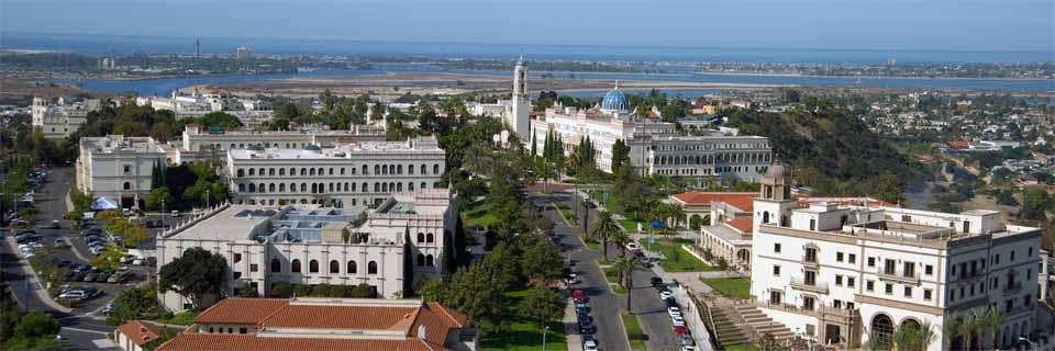 聖地牙哥大學空景