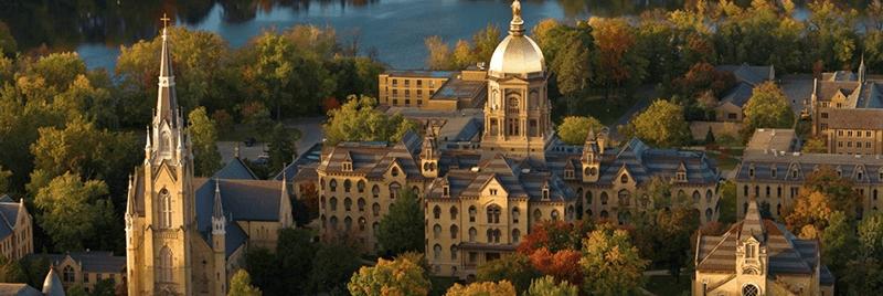 聖母大學俯瞰景
