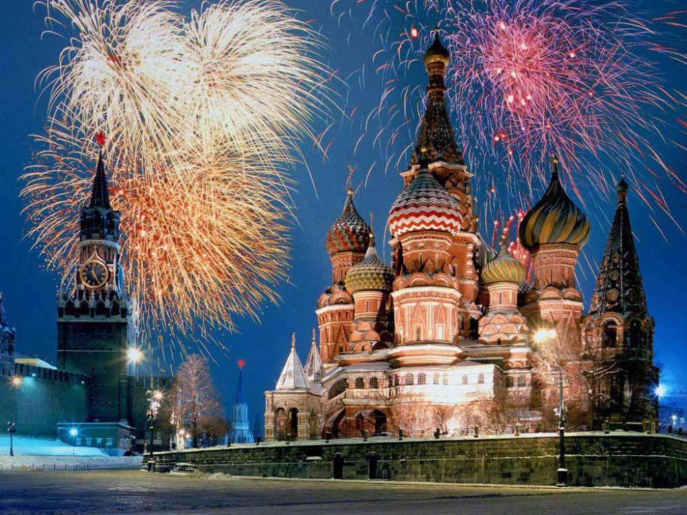 莫斯科煙火
