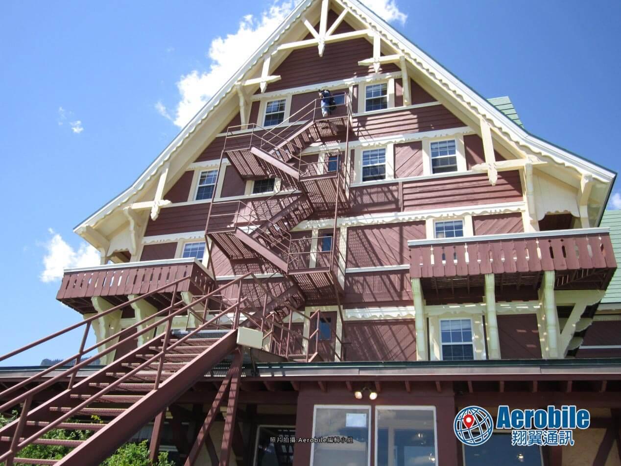 加拿大瓦特頓國家公園景點,威爾斯親王旅館(The Prince of Wales Hotel)旅遊介紹 (4)