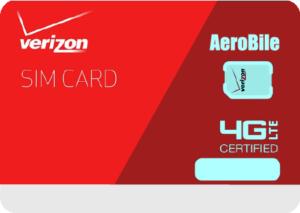 Verizon 電話卡網卡- 翔翼通訊 AeroBile