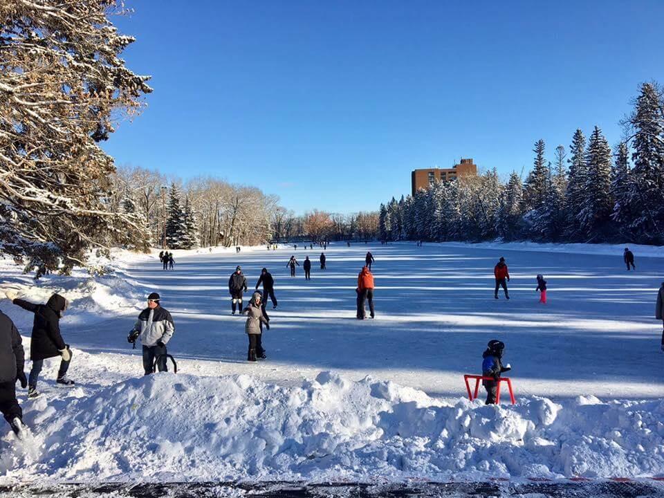 加拿大雪場.冰場 - 加利大學 - 奧林匹克滑冰場: