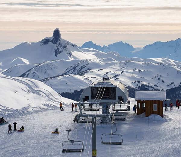 加拿大雪場.冰場 - 惠斯勒-黑梳山滑雪場:
