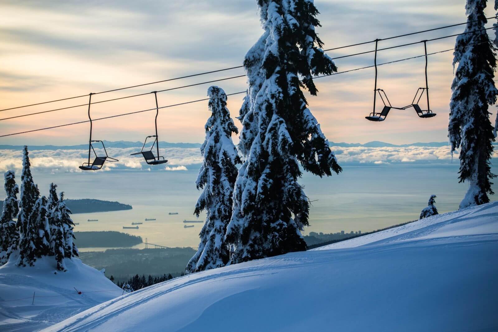 加拿大雪場.冰場 - 溫哥華市區-西摩山(Mt. Seymour)雪場: