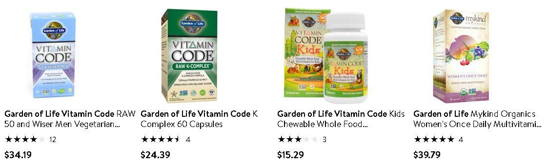 必買維他命 - Garden of Life - Vitamin Code 2