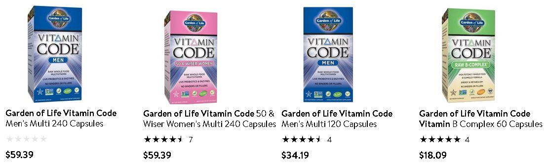 必買維他命 - Garden of Life - Vitamin Code