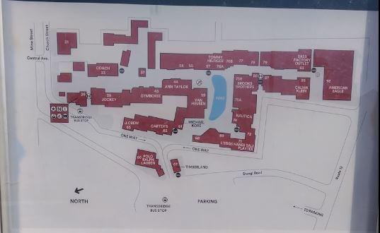 美國OUTLET-Liberty Village Premium Outlets -平面圖