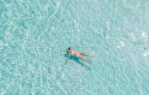 海灘玩水-水上活動-素材圖