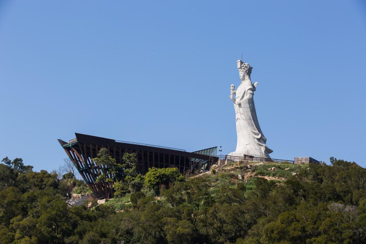 馬祖-南竿北竿 自由行深度遊-秘境景點行程規劃 (媽祖巨神像)