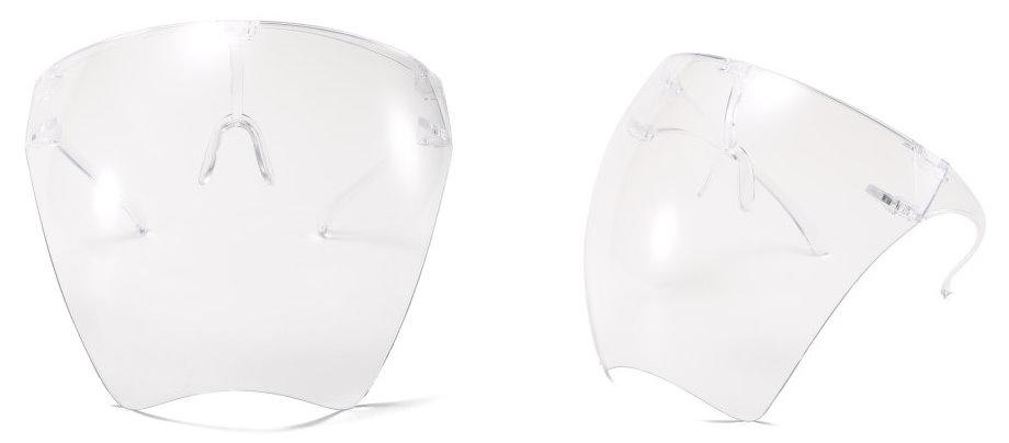 韓版防疫面罩 (抗霧) - 透明防護面罩 全臉式防疫面罩