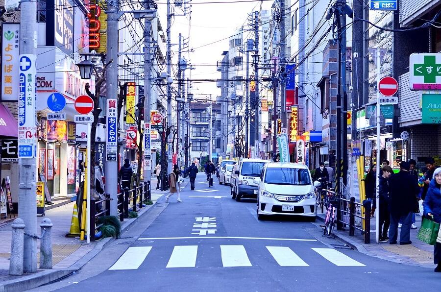 日本街景-東京-Tokyo, Japan